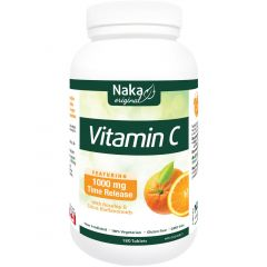Naka Herbs Vitamin C 1000mg Timed Release with Rosehips & Citrus Bioflavonoids