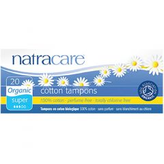 Natracare Organic Tampons (Non-Applicator Style)