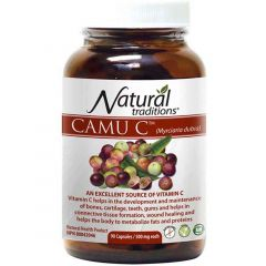 Natural Traditions CAMU C, 90 Capsules