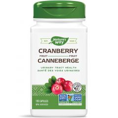Nature's Way Cranberry Fruit, 100 Vegetable Capsules