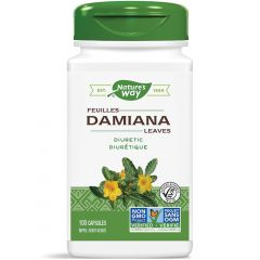 Nature's Way Damiana Leaves 400mg, 100 VCaps