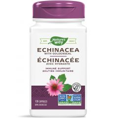 Nature's Way Echinacea with Goldenseal Root, 100 Capsules