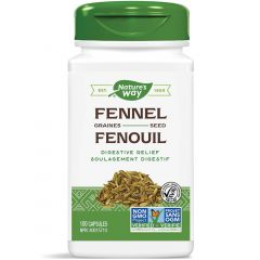 Nature's Way Fennel Seed, 100 Vegetable Capsules