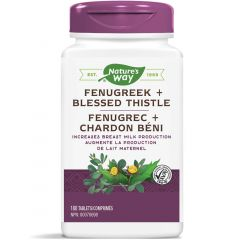 Nature's Way Fenugreek + Blessed Thistle, 180 Tablets