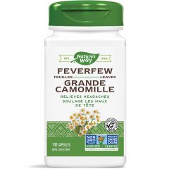 Nature's Way Feverfew Leaves, 100 Vegetable Capsules