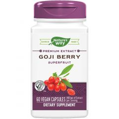 Nature's Way Goji Berry Standardized Extract, 60 Vcaps