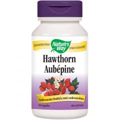Nature's Way Hawthorn Standardized Extract, 90 Capsules