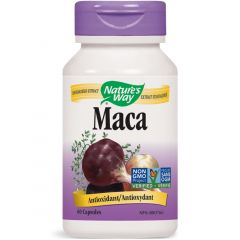 Nature's Way Maca Standardized Extract, 60 Vegetable Capsules