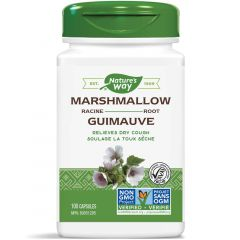Nature's Way Marshmallow Root, 100 Vegetable Capsules