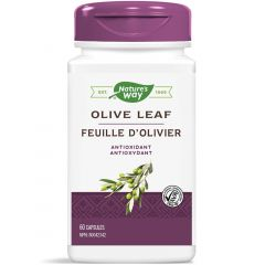 Nature's Way Olive Leaf Standardized Extract, 60 Vcaps