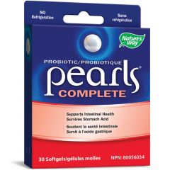 Nature's Way Probiotic Pearls Complete, 30 Pearls (Formerly Enzymatic Therapy)