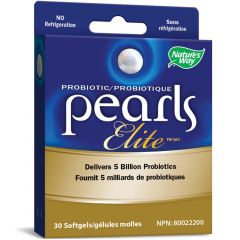 Nature's Way Probiotic Pearls Elite, 30 Pearls (Formerly Enzymatic Therapy)