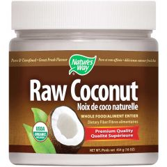 Nature's Way Raw Coconut Whole Food, 454g