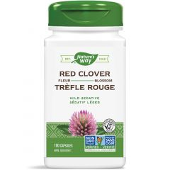 Nature's Way Red Clover Blossoms, 100 Capsules