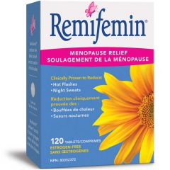 Nature's Way Remifemin Menopause Relief, 120 Tablets