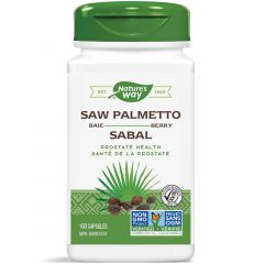 Nature's Way Saw Palmetto Berries, 100 VCaps