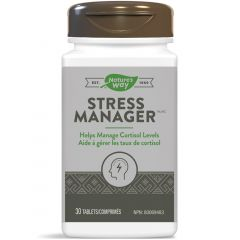Nature's Way Stress Manager (Put Stress To Rest), 30 Tablets