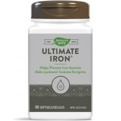 Nature's Way Ultimate Iron 25mg, 90 Softgels