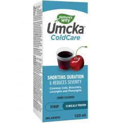 Nature's Way Umcka ColdCare Cough Syrup, 120ml