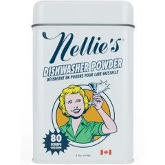 Nellie's All Natural Automatic Dishwasher Powder, 80 Loads