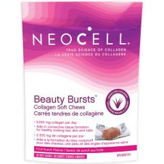 NeoCell Beauty Bursts Collagen Soft Chews Fruit Punch Flavour, 60 Soft Chews