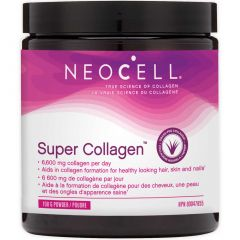 NeoCell Super Collagen Powder, Hydrolyzed Collagen Peptides Type 1 and 3 (Gluten-Free & Grass-Fed), 198g