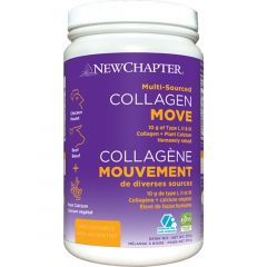 New Chapter Collagen Move (Type I, II, III Collagen with Plant Calcium), 210g