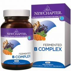 New Chapter Fermented B Complex, 30 Tablets
