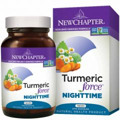 New Chapter Turmeric Force Nighttime, 48 Capsules
