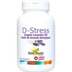 New Roots D-Stress Now Organic Lavender Oil (Certified Organic)