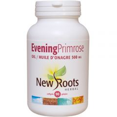 New Roots Evening Primrose Oil 500mg (Certified Organic)