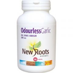 New Roots Odourless Garlic 200mg, 90 Capsules