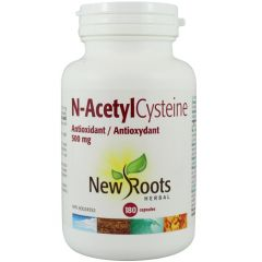 New Roots NAC N-Acetyl-Cysteine 500mg