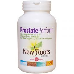 New Roots Prostate Perform Certified Organic