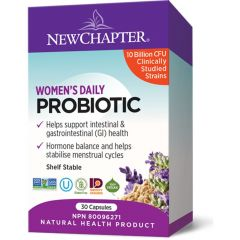 New Chapter Probiotic Women's Daily, 30 Capsules