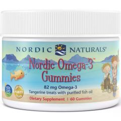 Nordic Naturals Omega 3 Gummies For Kids, 60 Gummies