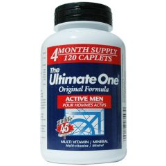 Nu-Life The Ultimate One Multivitamin Active Men (4 Month Supply)
