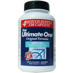 Nu-Life The Ultimate One Multivitamin Men 50+ (4 Month Supply)