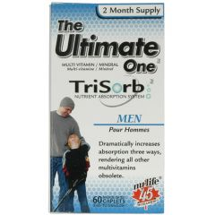 Nu-Life The Ultimate One Trisorb Multivitamin for Men (2 Month Supply), 60 Caplets