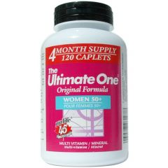 Nu-Life The Ultimate One Multivitamin Women 50+ (4 Month Supply)