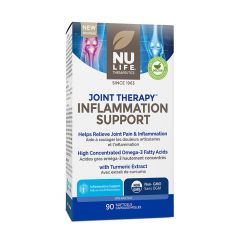 Nu-Life Joint Therapy Inflammation Support (Hi-Potency Turmeric and Omega-3), 90 Softgels