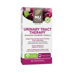 Nu-Life Urinary Tract Therapy (Cranberry, D-Mannose, Olive Leaf)