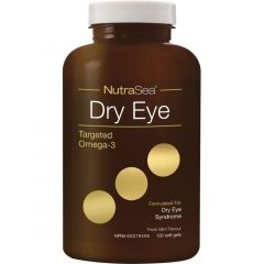NutraSea Dry Eye Targeted Omega-3 (EPA, DHA, GLA), 120 Softgels (New!)