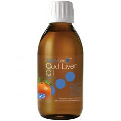 NutraSea+D Cod Liver Oil with Vitamin D, 200ml