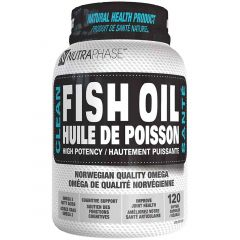 Nutraphase Clean Fish Oil, 120 Capsules