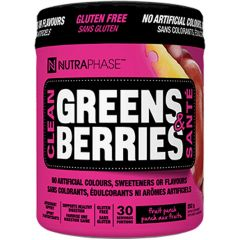 Nutraphase Clean Greens & Berries