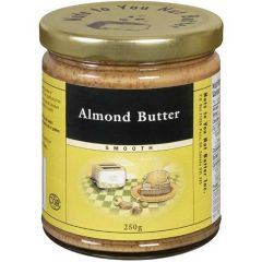 Nuts To You Almond Butter Smooth, 250g