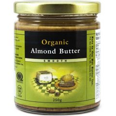 Nuts To You Organic Almond Butter, 250g