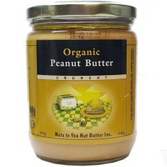 Nuts To You Organic Peanut Butter, 500g