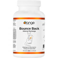 Orange Naturals Bounce Back (Adrenal Support), 90 Vegetable Capsules
